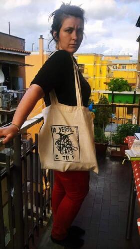 Valentina e la shopper di Verso il Bio